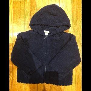 Angel Dear hooded fleece zip-up size 2T